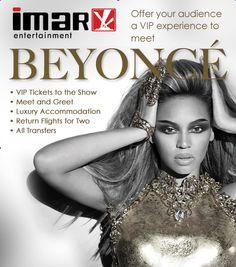 Beyoncé VIP experience