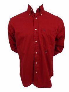 Tommy Hilfiger Flannel Shirt Size L Large Mens Long Sleeve Button Front Cotton #TommyHilfiger #ButtonFront