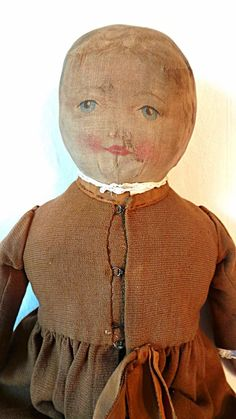 Mother Congress Antique Cloth Doll