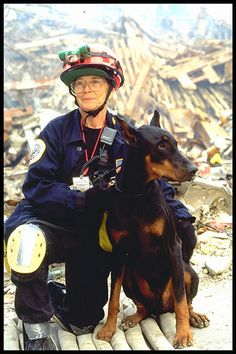 New York, NY, September 23, 2001 — FEMA's Urban Search and Rescue teams search for survivors amongst the wreckage of the World Trade Center. (Photo by Andrea Booher/ FEMA News Photo)
