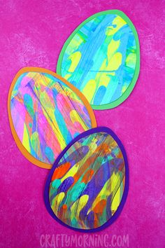 Make fun scrape easter eggs with your kids this Easter!! A fun and unique way to decorate eggs. Supplies: Colored Cardstock paper White Cardstock paper Thick Cardboard Paint Scissors Glue Newspaper (material to protect your surface) Instructions: Cut out an egg shape on white cardstock and a larger egg onto colored cardstock. Cover your surface …