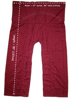 thai fisherman pants - Google Search