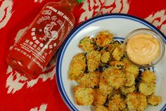 """Panko baked """"fried pickles"""". Baked dill pickles dipped in panko ... healthier alternative to traditional fried pickles."""