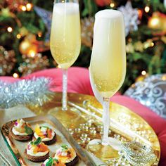 Speakeasy Sparkler   MyRecipes.com This festive Champagne sparkler gets a lift from moonshine and limoncello. You can purchase any number of fine bottles of handcrafted moonshine at your local package store.