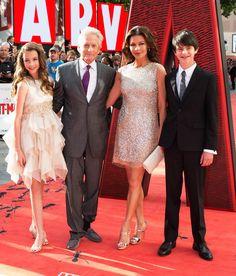 Kid-Friendly Fair from Catherine Zeta-Jones & Michael Douglas: Romance Rewind | E! Online