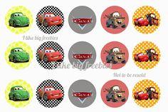Cars bottlecap images