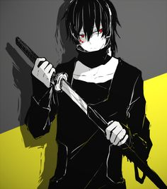 "Tags: Kagerou Project, Pixiv Id Kokonose ""Konoha"" Haruka, Dark Konoha Dark Anime, Kagerou Project, Character Design, Anime Drawings Boy, Slayer Anime, Character Design Male, Anime, Yandere, Dark Anime Guys"