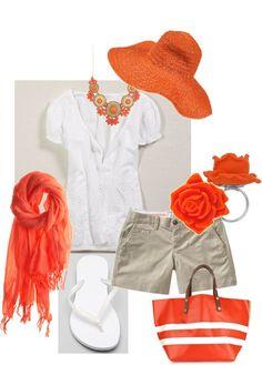 """Boppin around - orange"" by stantau on Polyvore"