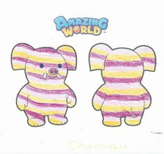 Striped, colorful and always so happy. Design Your Own, Winnie The Pooh, Smurfs, Disney Characters, Fictional Characters, Colorful, Amazing, Happy, Winnie The Pooh Ears