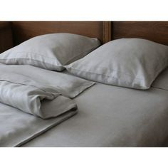 Комплект льняного постельного белья Венера с двумя пододеяльниками Королевство Льна