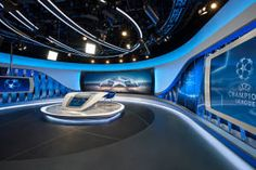 Veech x Veech´s flagship ORF Sports Studio pushing the boundaries of the seamless integration of media technology into a broadcast studio environment
