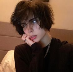 Cut My Hair, New Hair, Hair Cuts, Boy Hairstyles, Pretty Hairstyles, Hair Inspo, Hair Inspiration, Androgynous Hair, Fluffy Hair