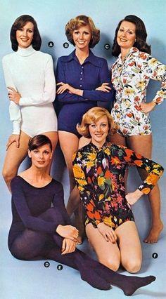 6. Body Suit - 70's fashion