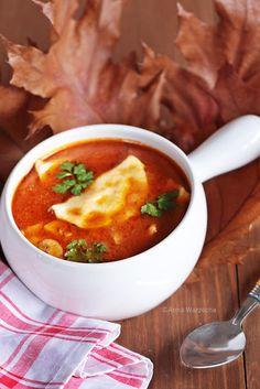 Wiem co jem - Zupa leśniczyny Soup Recipes, Healthy Recipes, Souped Up, Polish Recipes, Polish Food, Thai Red Curry, Grilling, Food And Drink, Recipes