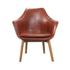 Holscher Armchair in Brown
