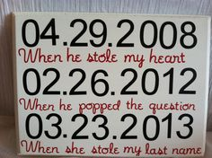 Our love story in numbers, personalized wedding, anniversary, couples gift