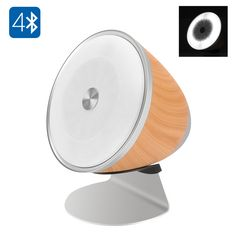 The FACEFOU ML350 Bluetooth speaker will play your tracks in great quality and doubles as an LED lamp