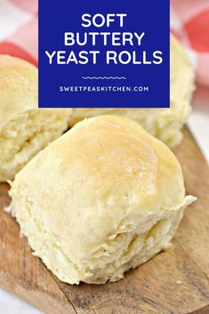 How to make easy Soft Buttery Yeast Rolls. Perfect soft dinner roll recipe. Dinner Rolls Recipe, Roll Recipe, Baked Turkey Wings, Buttery Rolls, Yeast Rolls, 9x13 Baking Dish, Yeast Bread, Serving Size, Make It Simple