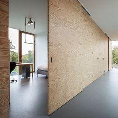 plywood can be beautiful and sophisticated | mecc interiors inc.