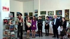 Vernisaj expozitie Casa Muzelor si a rozelor Pictura et poesis Centrul Cultural European sector 6