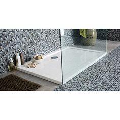 Receveur de douche rectangulaire Prima en résine, 120x80cm | Leroy Merlin