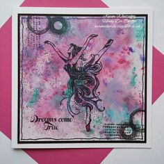 Beautiful Ballet stamp set by Honey Doo Crafts  #honeydoocrafts #dtsample #beautifulballet #ballet #dancer #distressoxides #stamps #stamping #card #creative #craft #ilovetocraft #creativity