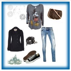 A day at Disney - Polyvore