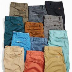 Tomboy Fashion, Mens Fashion, Khaki Pants Outfit, Formal Shirts For Men, Men Style Tips, Mens Clothing Styles, Colored Jeans, Men Dress, Men Casual