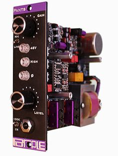 Lunchbox Audio - Purple Audio Pants - Differential Mic Preamp, $725.00 (http://www.lunchboxaudio.com/purple-audio-pants-differential-mic-preamp/)