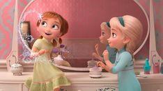 Frozen 2 — Сut scenes part 1