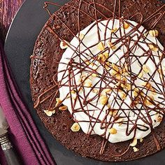 Hazelnut Truffle Cake From Better Homes and Gardens, ideas and improvement projects for your home and garden plus recipes and entertaining ideas.