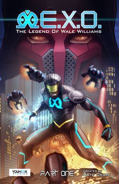 E.X.O. is a superhero story about redemption set in a futuristic 2025 Africa! Click the link below to learn more: http://kck.st/1FcjXoG