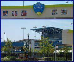 Western & Southern Open Tennis Tournament Cincinnati held in Mason Ohio  August 11-19, 2012