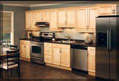 one wall kitchen | Garage/apartment Plan | Pinterest | Kitchens ...
