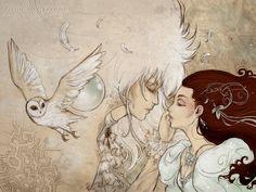 As the world falls down (Labyrinth fanart) by tanuki-chan on deviantART