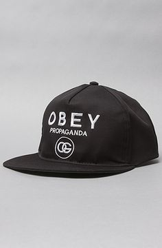 The Coco Snapback Cap in Black by Obey