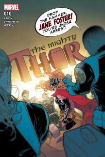 Mighty Thor (W) Jason Aaron (A/CA) Russell Dauterman. On top of battling cancer and the villainous team of the Exterminatrix and the Silver Samurai, now Jane Foster has a surprising new enemy with which to contend: S. Rated T+ Comic Books Art, Comic Art, Book Art, Marvel Comics, Jane Foster, Silver Samurai, Dc World, The Mighty Thor, Comic Covers