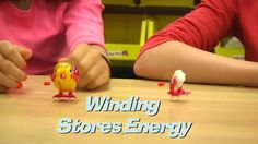 In this O Wow Moment, we take a look at how wind-up toys work...by taking them apart! Then, we use the same physics principles of transformation of energy to create a wind-up toy of our own - the Spool Car Racer!