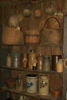 loaded buttery shelves