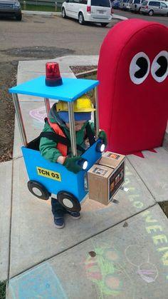 Forklift Halloween Costume