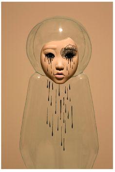 Korean contemporary Art Jin Young Yu's transparent sculptures