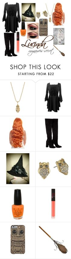 """""""Lucinda-Minecraft Diaries"""" by mynameis-secret ❤ liked on Polyvore featuring Sydney Evan, Anouki, Kate Spade, OPI, NARS Cosmetics, women's clothing, women, female, woman and misses"""
