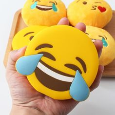 These emoji power banks can be used as a creative gift for people obsessed with…