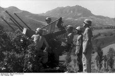 2 cm FlaK 38, Florence/Ravenna, Italy, 1944.