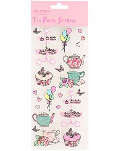 Tea Party Stickers
