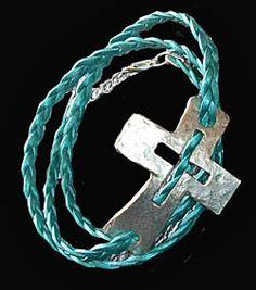 "Sagebrush Sirens: ""Ipenema"" Cross Bracelet/Necklace"
