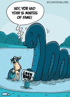 Here you can find all of his monster cartoons collected in one place. Loch Ness Monster, Popular Culture, Smurfs, Cartoon, Funny, Fictional Characters, Funny Parenting, Cartoons, Fantasy Characters