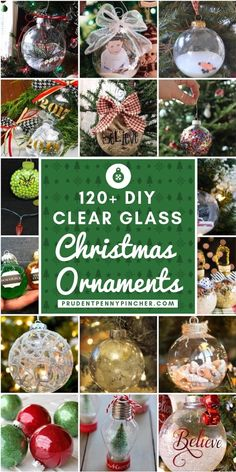 Diy Clear Glass Christmas Ornaments Christmas Christmasdecor Christmasornaments Christmascrafts Diy Happy New Year Christmas Projects, Holiday Crafts, Christmas Diy, Homemade Christmas Crafts, Christmas Cactus, Party Crafts, Christmas Music, Christmas Movies, Halloween Crafts