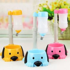 Auto Adjustable Dog Cat Drinking Fountain Food Water Dispenser Pet Bowl Feeder Dual Port Dog Automatic Water Bowl Pet Bowl