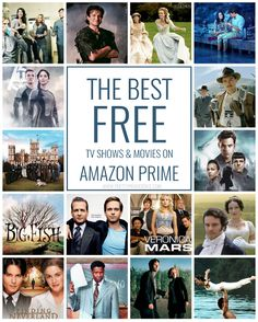 The best FREE movies & TV shows to stream with Amazon Prime! They actually have a lot to offer...